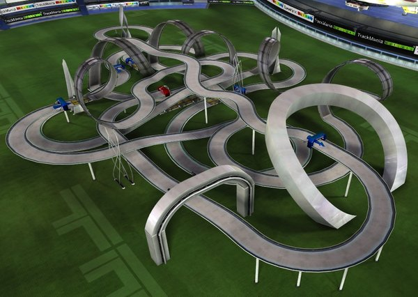TrackMania is intractable
